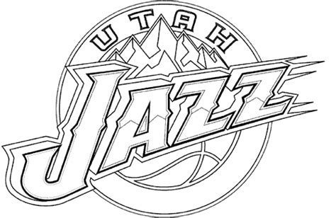 jazz basketball coloring pages utah coloring pages utah jazz coloring pages kids