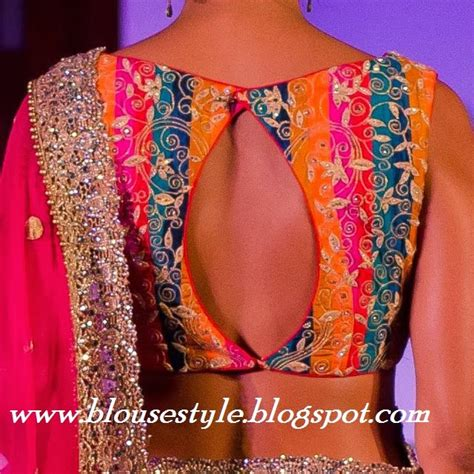 Different Is Beautiful Blouse models of blouse designs images of different type of back