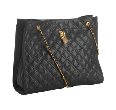 Marc Quilted Chain Bag by Marc Black Quilted Leather Juliette Chain