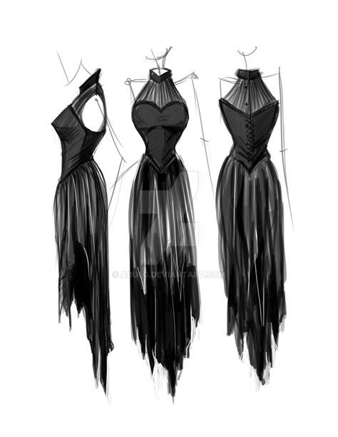 design dress black and white fashion design prom dress by abueg on deviantart
