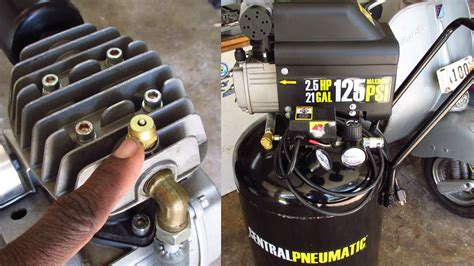 harbor freight tools air compressor problem fix