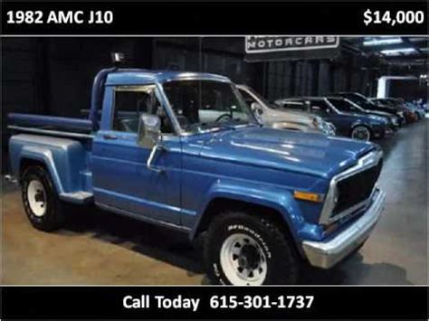 amc jeep j10 1982 amc j10 used cars nashville tn