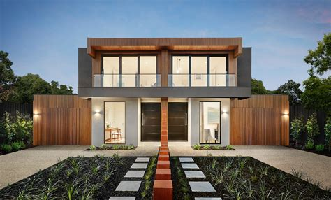 Homeplans Com Reviews st kilda east dual occupancy home now open carter grange