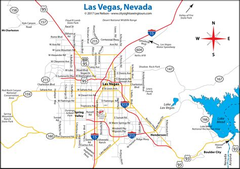 area map of las vegas area map city sightseeing tours