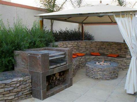7 best braai areas and small gardens images on pinterest