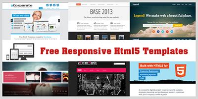 free simple responsive website templates html5xcss3 free responsive html5 and css3 templates