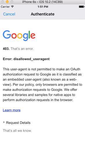 xamarin oauth tutorial xamarin forms xamarin auth plugin oauth2 and google sign