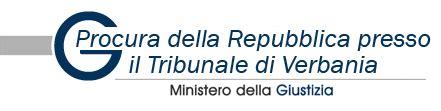 ufficio casellario presso la procura della repubblica procura della repubblica presso il tribunale di verbania