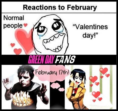 Fuck Valentines Day Meme - green day birthday video and birthdays on pinterest