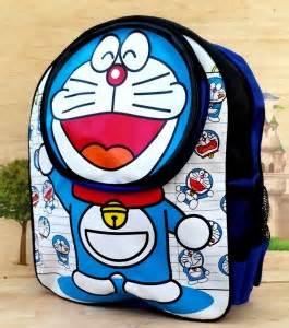 Tas Paketan Ransel Doraemon jual tas sekolah anak tk sd terlengkap grosir tas anak