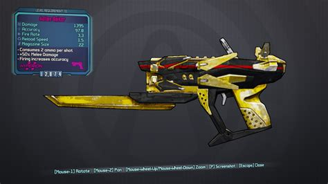 borderlands 2 color rarity borderlands 2 guns color guide ga