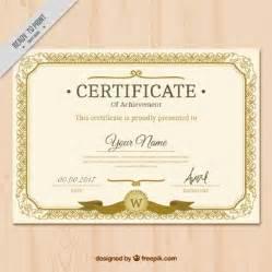 Iq Certificate Template Certificat Vecteurs Et Photos Gratuites