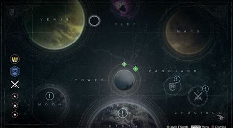 destiny maps all locations in destiny beyond entertainment