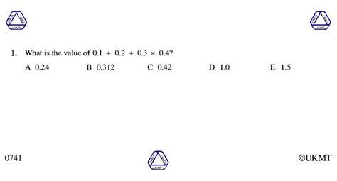 junior mathematical challenge junior mathematical challenge 2007