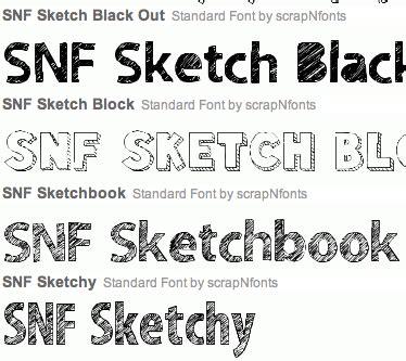 sketchbook font brian tippetts