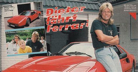 Dieter Bohlen Auto by Vongestern Dieter F 228 Hrt 1988