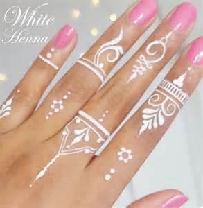5x golecha white henna paste cones weisse kegel paste no