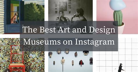 Design Museum Instagram | the best art and design museums on instagram exeter