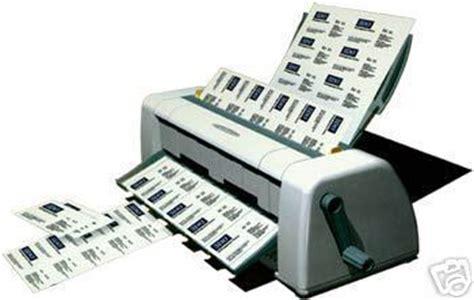 Business Card Maker Machine
