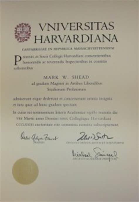 Harvard Extension School Mba by Harvard Master S Degree