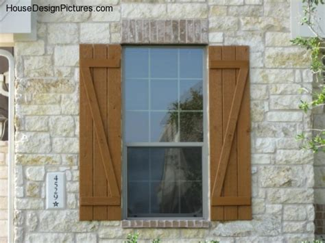 window shutters outside house exterior window shutter designs housedesignpictures com