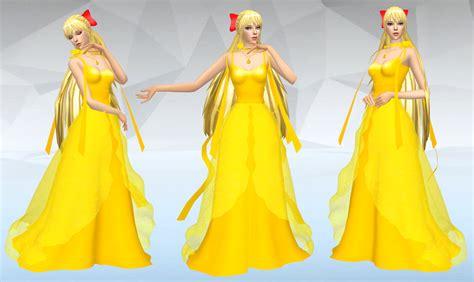 01 Princess Dress my sims 4 princess venus dress and school uniforms