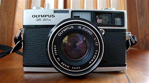 Kamera Analog Rangefinder Olympus 35 Spn fs olympus 35 spn fixed lens rangefinder
