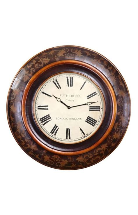 Uttermost Clocks Uttermost Brina Wall Clock