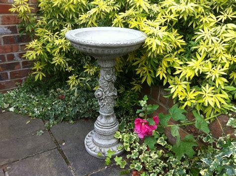 new garden bird bath concrete ornaments