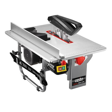 table saw ozito 200mm 800w table saw bunnings warehouse