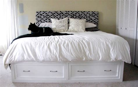 King Bed Frame With Storage 8 Diy Storage Beds To Add Space And Organization To Your Home