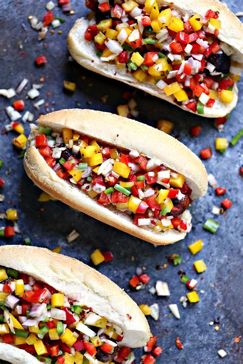 brats not on the grill grilled beer brats with boozy salsa