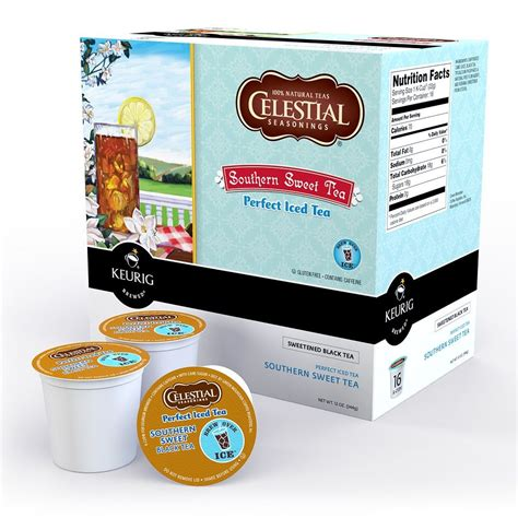 Celestial Southern Sweet Black Tea K Cup   THE REVIEW CLOUD