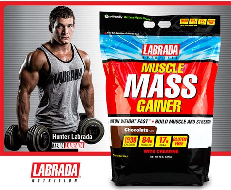 best mass gain protein mass gainer by labrada at bodybuilding best