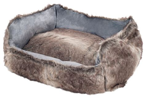 Faux Fur Bed by Faux Fur Mink Bed Medium Rustic Beds By
