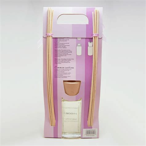 Diffuser Bag 4 lavender reed diffuser gift bag with reeds and