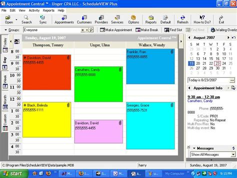 Free Appointment Calendar Software My Downloads Free Appointment Scheduling Software