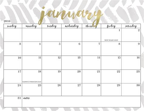 printable calendar pretty free printable 2016 calendars oh so lovely blog