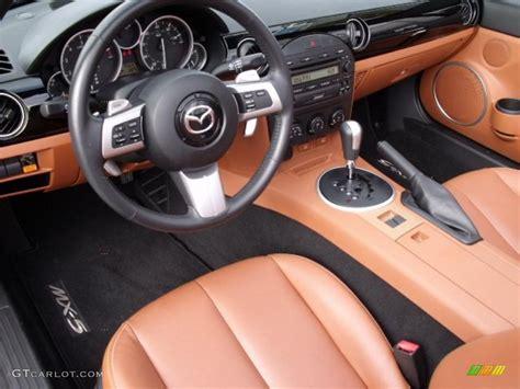 mazda roadster interior tan interior 2007 mazda mx 5 miata grand touring roadster