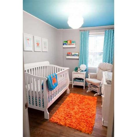 baby blue nursery rug baby boy nursery the blue ceiling and the orange ktm colored rug for when we a