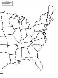 eastern half of united states map thefreebiedepot