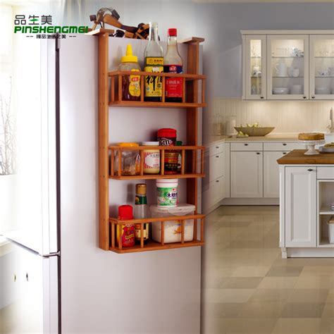 Fridge Spice Rack health and products sidewall refrigerator rack rack kitchen spice rack shelving wall