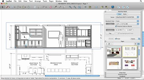 layout sketchup a0 sketchup 8 drafting in layout youtube