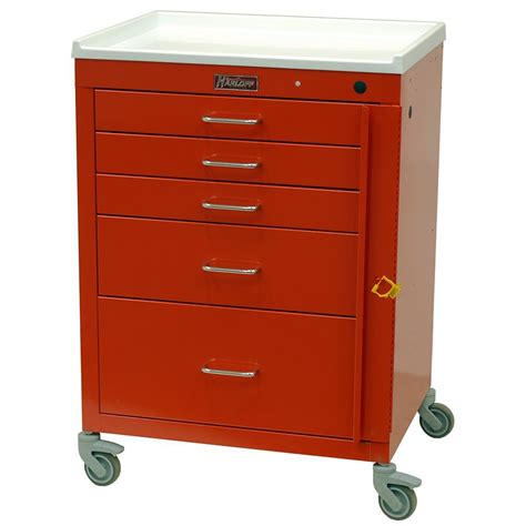 Lu Emergency Mini 4145b mini24 emergency cart harloff