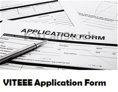 Vit Mba Admission 2017 Last Date by Viteee 2018 Application Form Registration Process