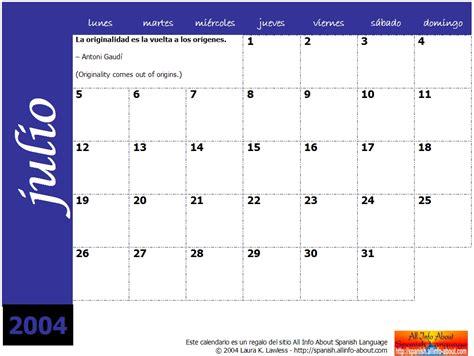 Calendario Translate Calendar 2005 Calendario Espa 241 Ol E Learn