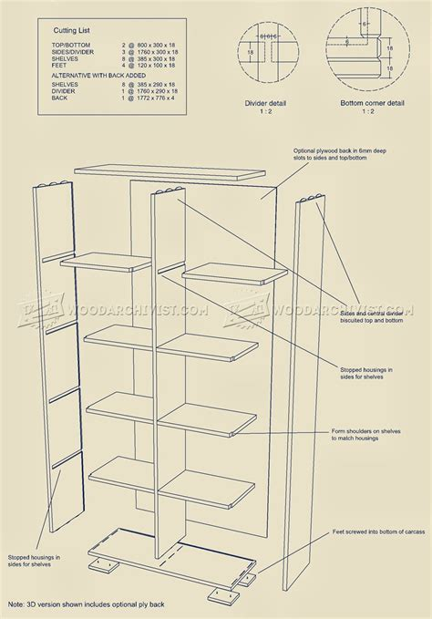 Cube Storage Unit Plans ? WoodArchivist