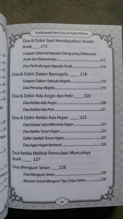 format buku saku buku saku ensiklopedi mini doa dzikir pilihan toko