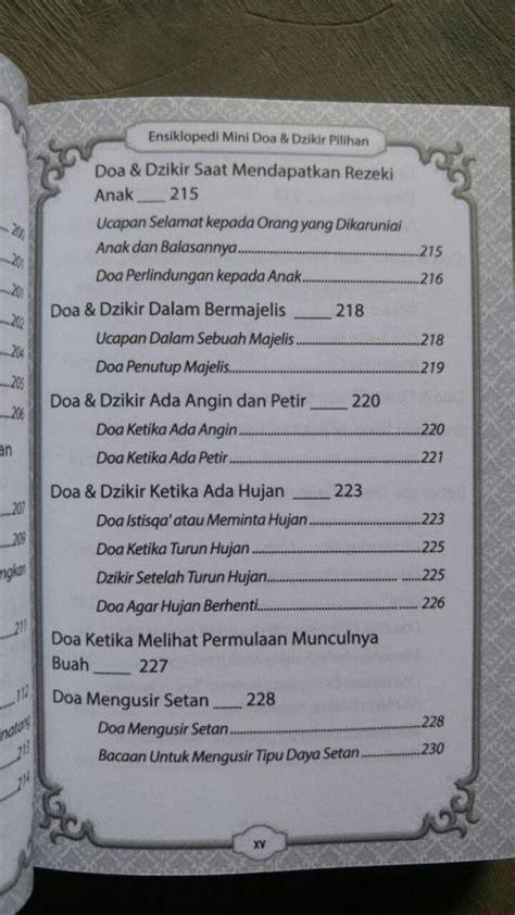 Terjemah Juzamma Dilengkapi Doa Doa Pilihan Dan Asmaul Husna buku saku ensiklopedi mini doa dzikir pilihan toko muslim title