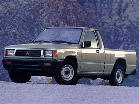 1992 mitsubishi mighty max specs safety rating mpg